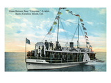 Santa Catalina Island, California - Glass Bottom Boat Empress View Posters by  Lantern Press