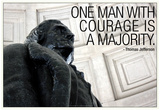Thomas Jefferson Courage Quote Photo