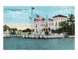Miami, Florida - Villa Vizcaya, James Deering Estate Scene Posters by  Lantern Press