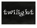 Lantern Press - Twilight - Forks, Washington - Poster