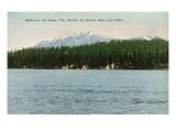 Lake Tahoe, California - McKinney, Moana Villas Showing the Rubicon Peaks Posters by  Lantern Press