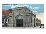 New Orleans, Louisiana - Exterior View of Terminal Station Prints by  Lantern Press