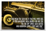 Great Gatsby Epigraph Poster