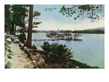 Lake Tahoe, California - Emerald Bay Scene Prints by Lantern Press 