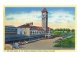 Baltimore, Maryland - Mt. Royal Station, Baltimore and Ohio Railroad View Kunstdrucke von  Lantern Press