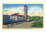 Baltimore, Maryland - Mt. Royal Station, Baltimore and Ohio Railroad View Prints by  Lantern Press
