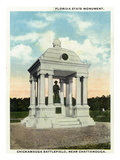 Georgia - Chickamauga Battlefield, View of the Florida State Monument Prints by  Lantern Press