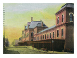 Chicago, Illinois - Union Depot on Canal and Adams Streets Prints by  Lantern Press
