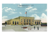 New Orleans, Louisiana - Trans-Mississippi Terminal Rail Station Prints by  Lantern Press