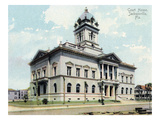 Jacksonville, Florida - Court House Exterior View Print by  Lantern Press