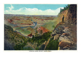 Grand Canyon Nat'l Park, Arizona - View from Bright Angel Trail Prints by  Lantern Press