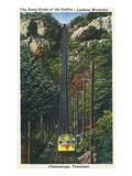 Chattanooga, Tennessee - Lookout Mountain Incline Rail View Kunstdrucke von  Lantern Press