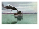 Lake Tahoe, California - Steamer Tahoe Scene Posters by  Lantern Press