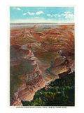 Grand Canyon Nat'l Park, Arizona - Down Bright Angel Trail from El Tovar Hotel Prints by  Lantern Press