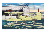 Pensacola, Florida - View of a Primary Training Hydroplane Poster by Lantern Press 