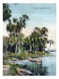 Florida - Scenic View Near Rockledge Prints by  Lantern Press