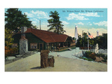 Mt. Wilson, California - Exterior View of the Mt. Wilson Hotel Prints by  Lantern Press