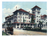 Jacksonville, Florida - Windsor Hotel Exterior View Prints by  Lantern Press