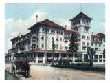Jacksonville, Florida - Windsor Hotel Exterior View Prints by  Lantern Press