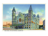 Louisville, Kentucky - Exterior View of Union Station Art by  Lantern Press