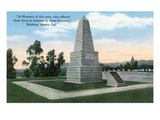 Los Angeles, California - View of Soldier's Home Memorial Formerly Sawtelle Prints by  Lantern Press