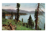Lake Tahoe, California - Carnelian Bay Scene Poster par Lantern Press