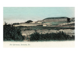 Pensacola, Florida - Panoramic View of Fort Barrancas Prints by  Lantern Press