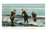Santa Catalina Island, California - Ladies in the Water Posters by  Lantern Press