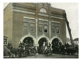 Waterloo, Iowa - Fire Station Exterior Photograph Posters by  Lantern Press
