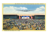Long Beach, California - Douglas Aircraft Corp. New Black-Out Plant Kunstdrucke von  Lantern Press
