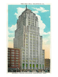 Cleveland, Ohio - Oh Bell Telephone Co Building Exterior Posters by Lantern Press