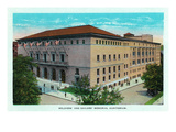 Chattanooga, Tennessee - Exterior View of the Soldiers' and Sailors' Memorial Auditorium Prints by Lantern Press