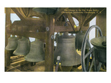 Chautauqua, New York - Chautauqua Institution, Pier House Belfry Bells Art by  Lantern Press