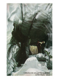 Estes Park, Colorado - Interior Crevice View in Hallett's Glacier Prints by  Lantern Press