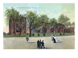 Rochester, New York - St. Bernard's Seminary Exterior View Póster por Lantern Press