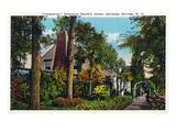 Saratoga Springs, New York - Chauncey Olcott Residence Inniscarra Poster by  Lantern Press