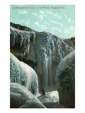 Niagara Falls, New York - Cave of the Winds Ice Formation Posters par Lantern Press