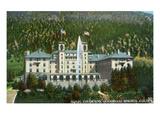 Glenwood Springs, Colorado - Exterior View of Hotel Colorado Prints by  Lantern Press