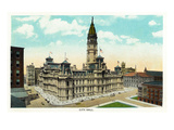Philadelphia, Pennsylvania - City Hall Exterior Posters by  Lantern Press