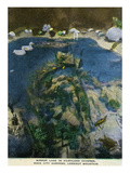 Lookout Mountain, Tennessee - Fairyland Caverns, Interior View of Mirror Lake Poster by  Lantern Press