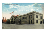 Des Moines, Iowa - Union Station Exterior View Posters by  Lantern Press