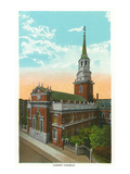 Philadelphia, Pennsylvania - Christ Church Exterior Prints by  Lantern Press