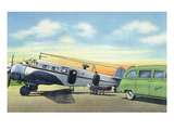 View of the Kepner Air Ambulance Boarding a Patient Prints by Lantern Press
