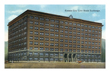 Kansas City, Missouri - Exterior View of the Kansas City Live Stock Exchange Building Prints by  Lantern Press
