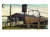 Hartford, Connecticut - View of an Old Train Bridge Posters by Lantern Press