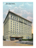 Montreal, Quebec - Ritz-Carlton Hotel Exterior Poster by  Lantern Press