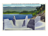 Tennessee - View of the Morning Glory Spillway at South Holston Dam Posters by Lantern Press
