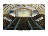 Springfield, Missouri - Interior View of the Shrine Mosque Auditorium Prints by  Lantern Press