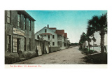 St. Augustine, Florida - View of the Sea Wall Posters by  Lantern Press