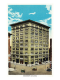 Springfield, Missouri - Exterior View of the Woodruff Building Prints by  Lantern Press